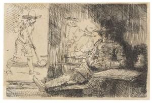 Das Kolf-spiel by Rembrandt Harmenszoon Van RIJN