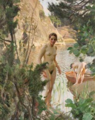 Jollen by Anders ZORN