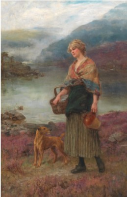 On The Way Home by Henry John YEEND KING
