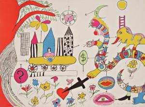 Sans Titre by Niki De SAINT-PHALLE