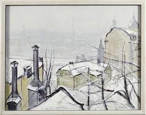Utsikt Från Södermalm by Olof ARÉN