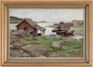 Motiv Ifrån Grisslehamn by Fanny BRATE