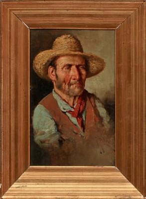 Porträtt Av äldre Man by Giuseppe GIARDIELLO