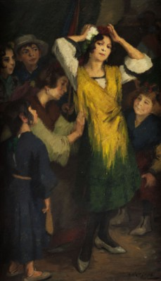 Vor Dem Tanz by Leo Von KÖNIG