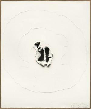 Concetto Spaziale, Bianco by Lucio FONTANA