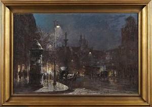 Gatuscen Warsawa by Wladyslaw CHMIELINSKI
