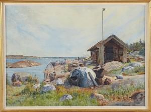 Fiskebod by Gunnar WIDFORSS