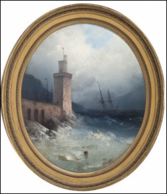 After The Storm by Ivan Konstantinovich AIVAZOVSKY