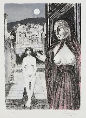 La Reine De Saba by Paul DELVAUX