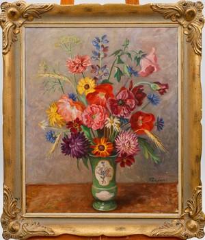 Blomsterstilleben by Per-Hilding PERJONS