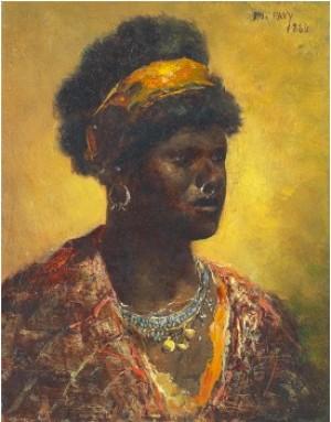 Porträtt Av Morisk Kvinna by Philippe PAVY