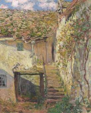 L'escalier by Claude MONET