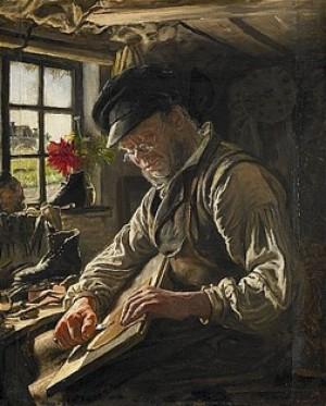 Skomakare by Peder Severin KRØYER