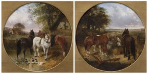 Farmyard Scenes by John Frederick The Younger HERRING