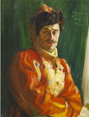 Porträtt Föreställande General Procopé by Ingrid RUIN