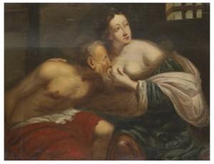 Cimon Och Pero by Peter Paul RUBENS