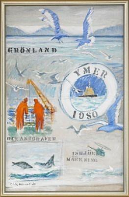 Grönland by Gösta WERNER