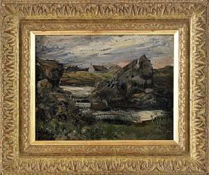 Roches Louvigny, Il De Bréhat by Ernst JOSEPHSON