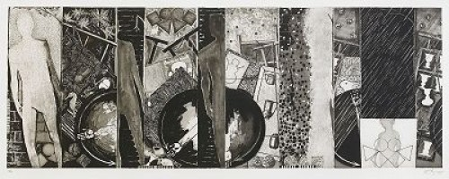 The Seasons by Jasper JOHNS
