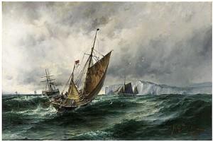 White Cliffs Of Dover by Herman Af SILLÉN