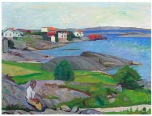 Fiskeläge, Bohuslän by Gunnar SVENSON