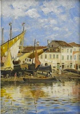 Från Venedigs Utkanter by Carl SKÅNBERG