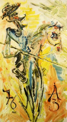 Don Quixote by Anatolii Timofeevich 'Az' ZVEREV