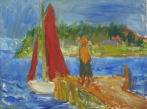 Röda Segel by Ivan IVARSON