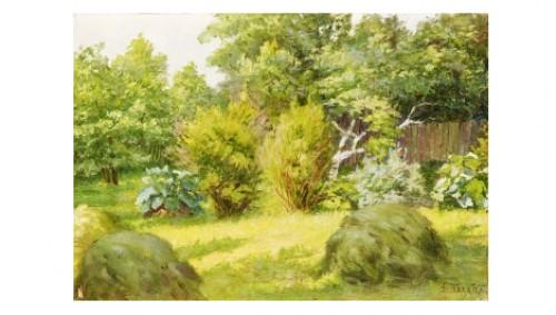 In The Garden by Dimitri Mihailovitch PALATKO