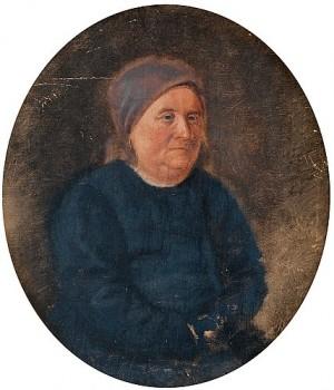 Repin's Godmother Marfa Vasilievna Radova by Ilya Efimovich REPIN