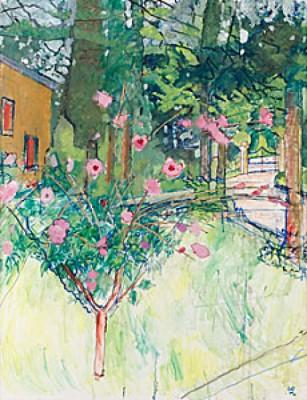 Blommande Träd by Hilding LINNQVIST