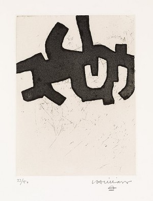Hatz Iv by Eduardo CHILLIDA