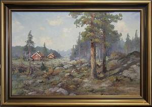 Motiv Från Småland by Jean ROSENGREN
