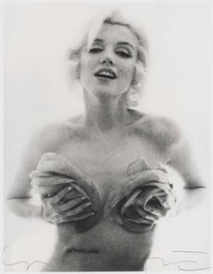 Marilyn Monroe- Roses 1962 by Bert STERN