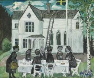 Kyrkkaffe by Olle NORDBERG