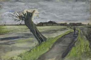 Pollard Willow by Vincent Van GOGH