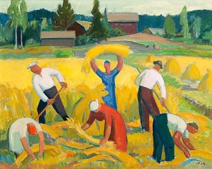 Harvesting by Onni OJA
