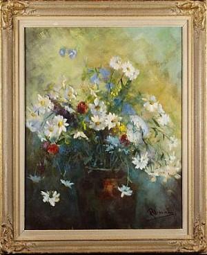 Blomsterstilleben by Rune WAHLSTRÖM