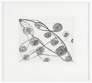 Untitled (safety Pins) by Louise BOURGEOIS