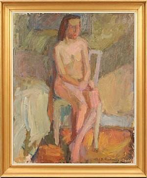 Sittande Modell by Erik Birger GUSTAVSSON