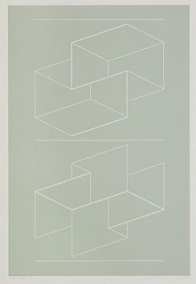 Weg Viii by Josef ALBERS