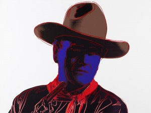 John Wayne by Andy WARHOL