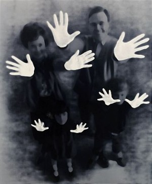 Hands, 1995 by Maria MIESENBERGER