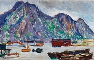 Motiv Från Lofoten by Edward HALD