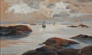 Kustmotiv by Theresia Lisen SANDSTRÖM