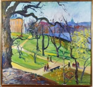 Skeppsholmen by Maurice MOBERG