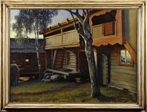 Holen, Tällberg by Gustaf ANKARCRONA