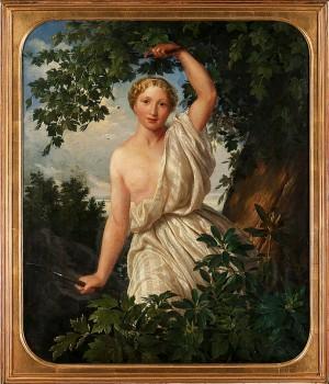 Jaktgudinnan Diana by Carl Gustaf PLAGEMANN