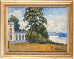 Gustav Iii:s Paviljong I Hagaparken by Eugène JANSSON