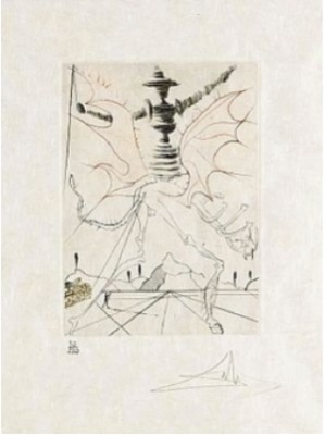 Much Ado About Shakespeare, (8 Plates) by Salvador DALI